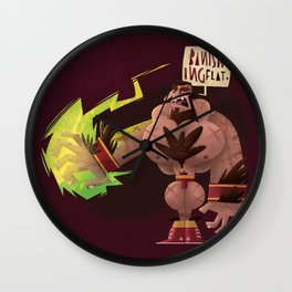 Banishing Flat Wall Clock