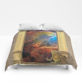 Godspeed Stephen Hawking Comforters