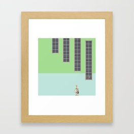 Goal Framed Art Print