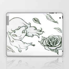 Rose in the wind Laptop & iPad Skin