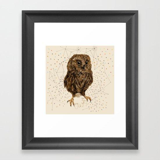 Mr.Owl IV Framed Art Print