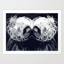 - VENN - limited chaos edition Art Print