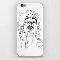 matty healy iPhone & iPod Skins featuring Kiss Matty by rachelmbrady_art