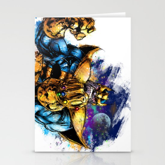Thanos Stationery Cards