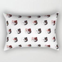 Monokuma Mood (White) Rectangular Pillow