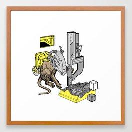 Culprit Tech Robot #7 Framed Art Print