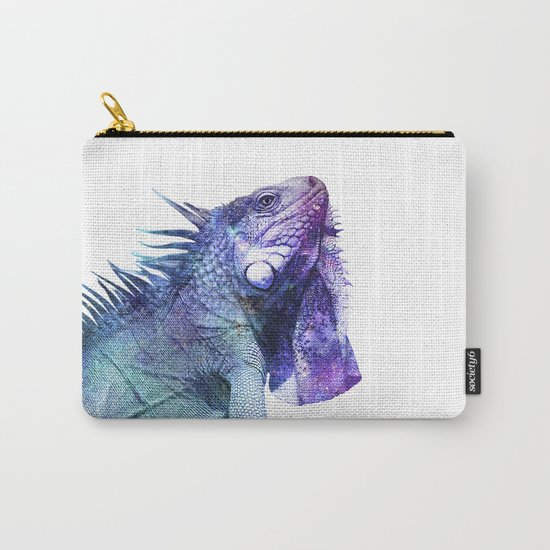 Galactic Iguana Carry-All Pouch