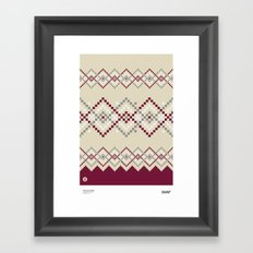 Jacquard 04 Framed Art Print