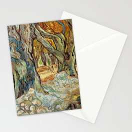 Vincent Van Gogh - The Large Plane Trees Stationery Cards