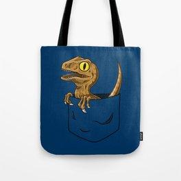 Pocket Raptor (Jurassic Park Velociraptor) Tote Bag