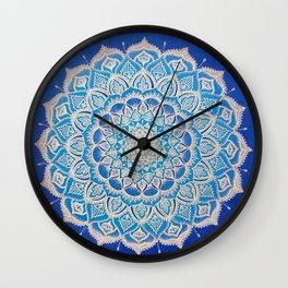 Manifest Mandala Wall Clock