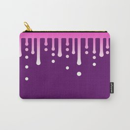 Dripping Fucsia Carry-All Pouch