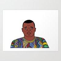 Biggie Art Print