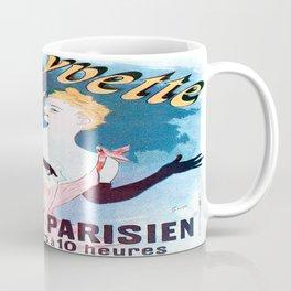 Vintage poster - Yvette Guilbert Coffee Mug