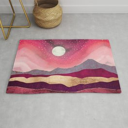 Scarlet Night Rug
