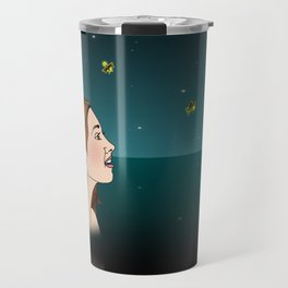 Swimming With Fireflies Travel Mug