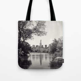 Central Park from Bow's Bridge Tote Bag