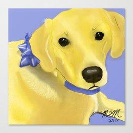 Warholesque Dog Canvas Print