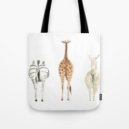 Cute animal butts Tote Bag