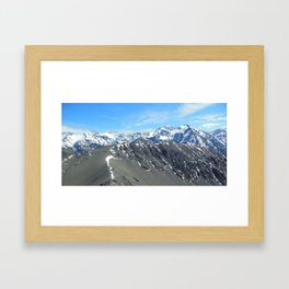 Where There Is No Path Framed Art Print