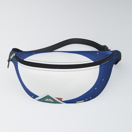 Town Moon Fanny Pack