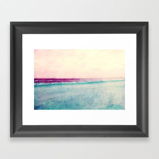 see impression Framed Art Print