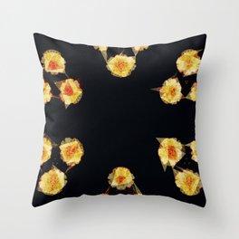 Fleur de Geo Throw Pillow