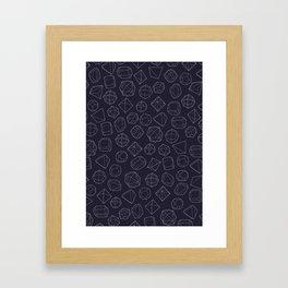 mineralogy Framed Art Print