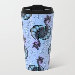 Sea Creature Fractal Travel Mug