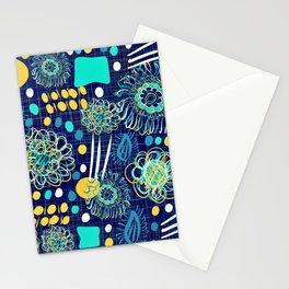 Playful mantra Stationery Cards