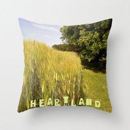 """""""Heartland IV"""" Throw Pillow"""