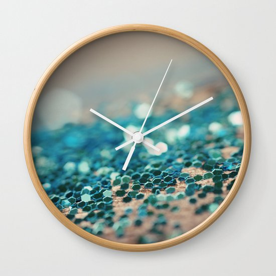 Sprinkled with Sparkle Wall Clock