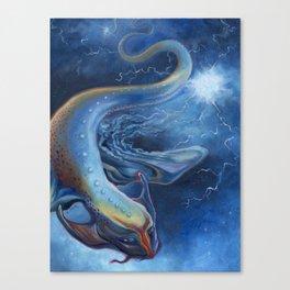 Lightning Dragon Canvas Print