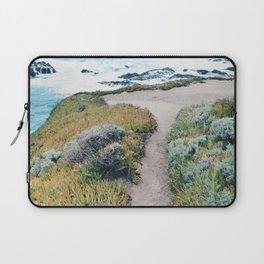 The Path to the Ocean Laptop Sleeve