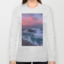 Sunset on the Bay of Biscay Long Sleeve T-shirt