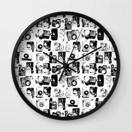 classic cameras Wall Clock