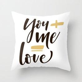 Love Accomplished Throw Pillow