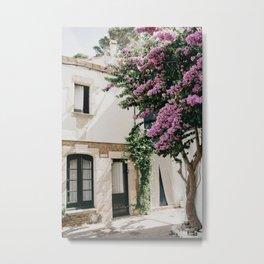 "Mediterranean Dreams Series ""House in Sa Tuna"" | Travel Photography Spain Metal Print"