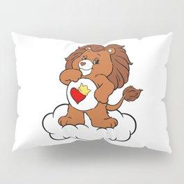 Brave Heart Lion Pillow Sham