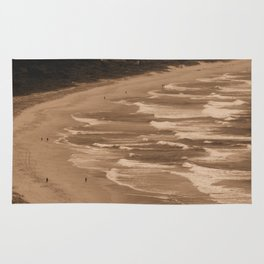 Waves, waves and more waves Rug