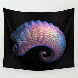 3D Fractal Curl Wall Tapestry