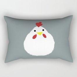 Lovely chicken Rectangular Pillow