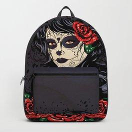 Sugar skull girl Backpack