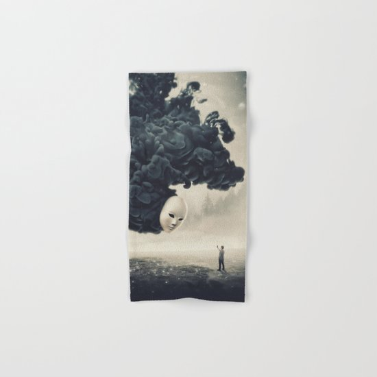 The Selfie Dark Surrealism Hand & Bath Towel