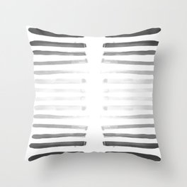 War paint Throw Pillow