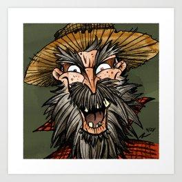 Bart Buckshot Art Print