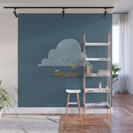 Thunder Cloud Skater Wall Mural