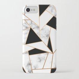 Marble III 003 iPhone Case