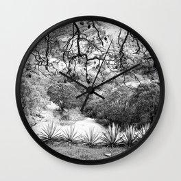 Oaxaca Mountain Wall Clock