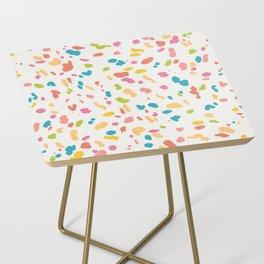 Colorful Animal Print Side Table
